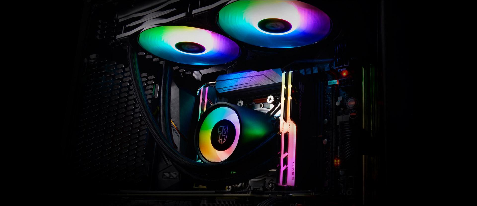 Castle 280 RGB GAMER STORM CPU LIQUID COOLER