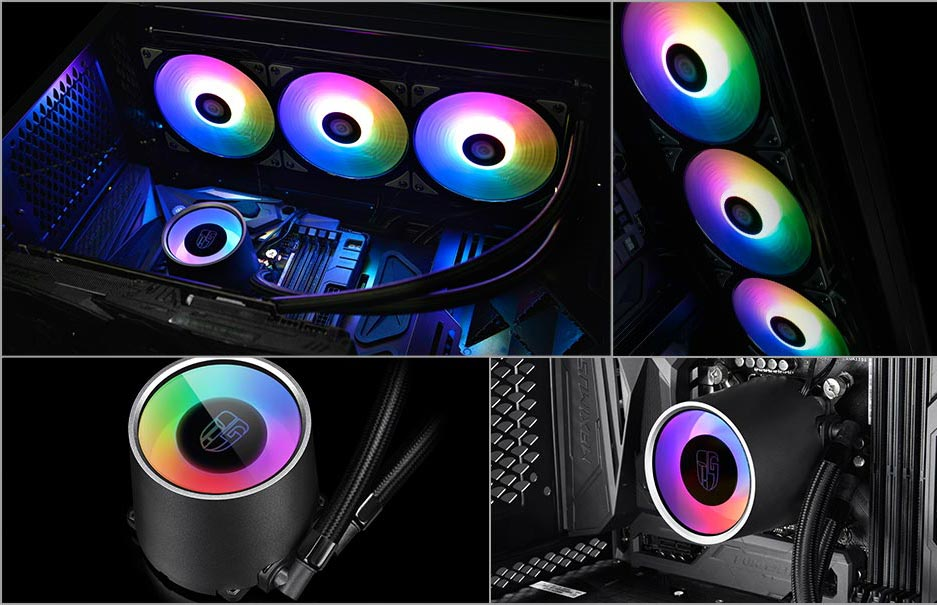 DEEPCOOL Gamer Storm Castle 360 RGB